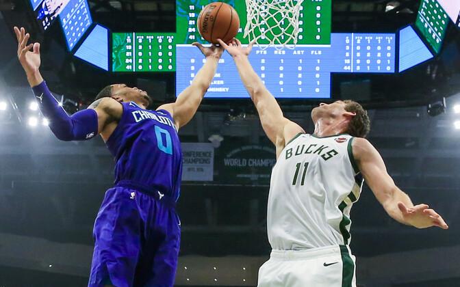 Milwaukee Bucks jõudis NBA liigas esimesena 50. võiduni