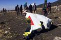 На месте крушения Боинга-737 (Ethiopian Airlines).