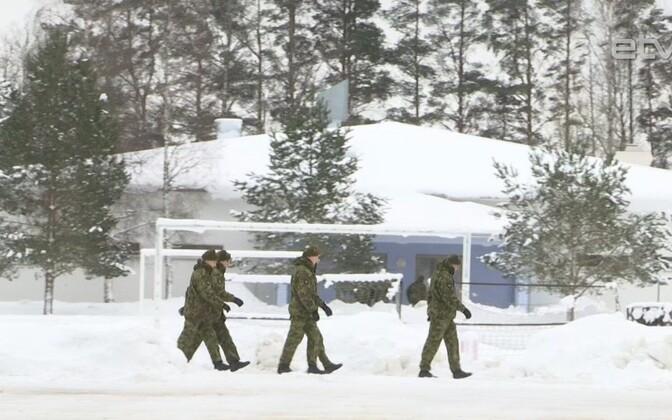 В Вируском пехотном батальоне.