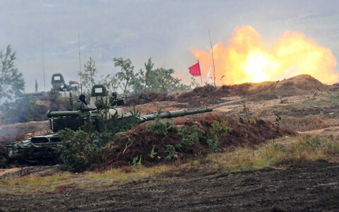 Venemaa ja Valgevene sõjaline õppus Zapad.