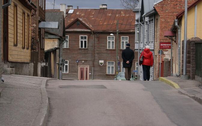 Основной источник бензпирена в Тарту – печное отопление. Иллюстративная фотография.