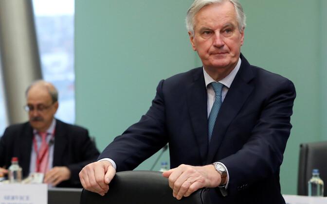 Euroopa Liidu Brexiti pealäbirääkija Michel Barnier.