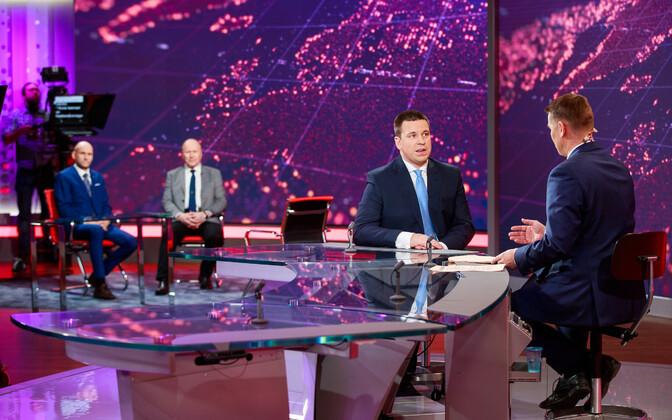Helir-Valdor Seeder, Mart Helme ja Jüri Ratas