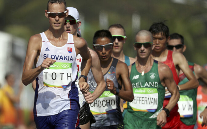Rio de Janeiro olümpiavõitja Matej Toth