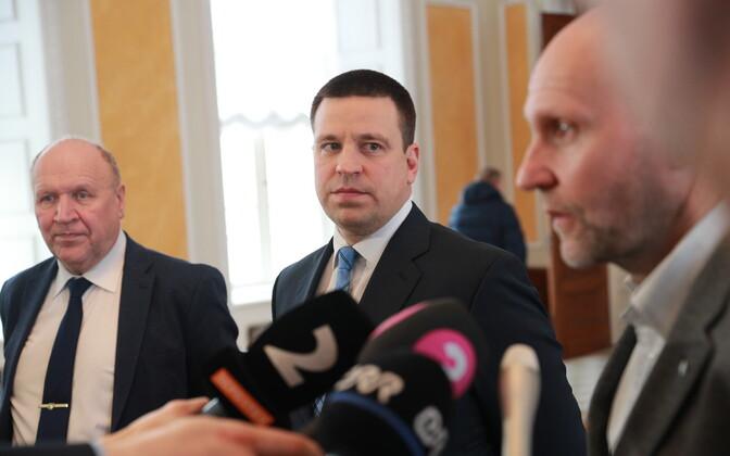 Helir-Valdor Seeder, Jüri Ratas ja Mart Helme