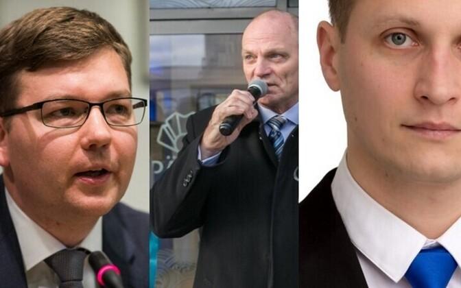 Андрей Новиков, Владимир Архипов и Дмитрий Дмитриев.