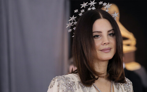 Lana Del Rey 60. Grammy auhindade jagamisel.