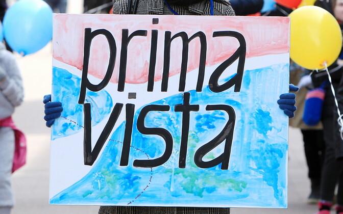 2017. aasta Prima Vista algas rongkäiguga ülikooli raamatukogu eest Raekoja platsile.