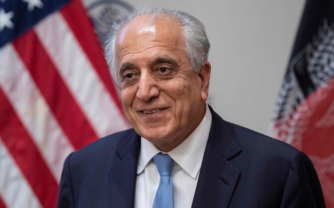 USA erisaadik Afganistani rahukõnelustel Zalmay Khalilzad.