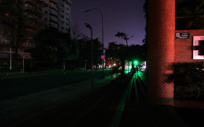 Caracase tänav 10. märtsil.