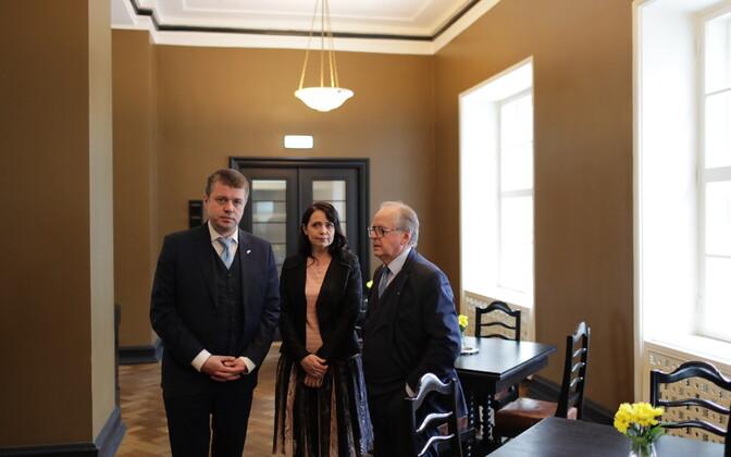 Представители Центристской партии, EKRE и «Отечества» встретились с дипломатами