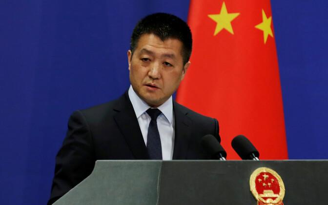 Hiina välisministeeriumi pressiesindaja Lu Kang.