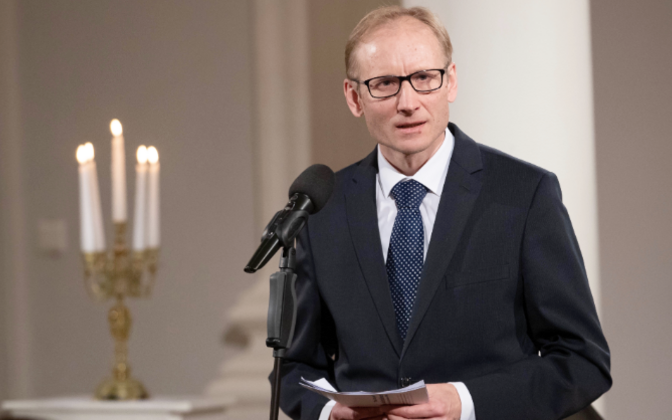 Tartu Ülikooli mõtteloo professor Pärtel Piirimäe.