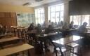 Kohtla-Järve Järve Gümnaasiumi 11. klassi õpilased kirjutasid sellel aastal e-etteütlust moodsate tehnikavidinate abil.