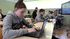 E-Etteütluse kirjutamine väikeses Lõpe Koolis Pärnumaal