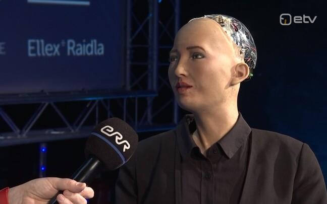 Humanoidrobot Sophia.