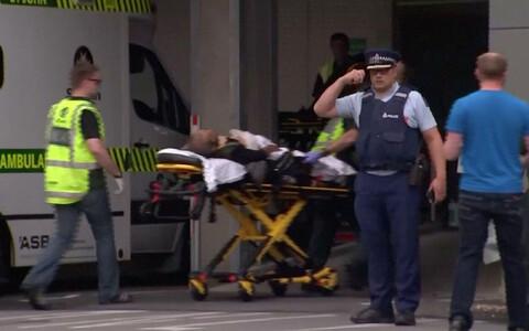 В мечети Новой Зеландии расстреляли людей.