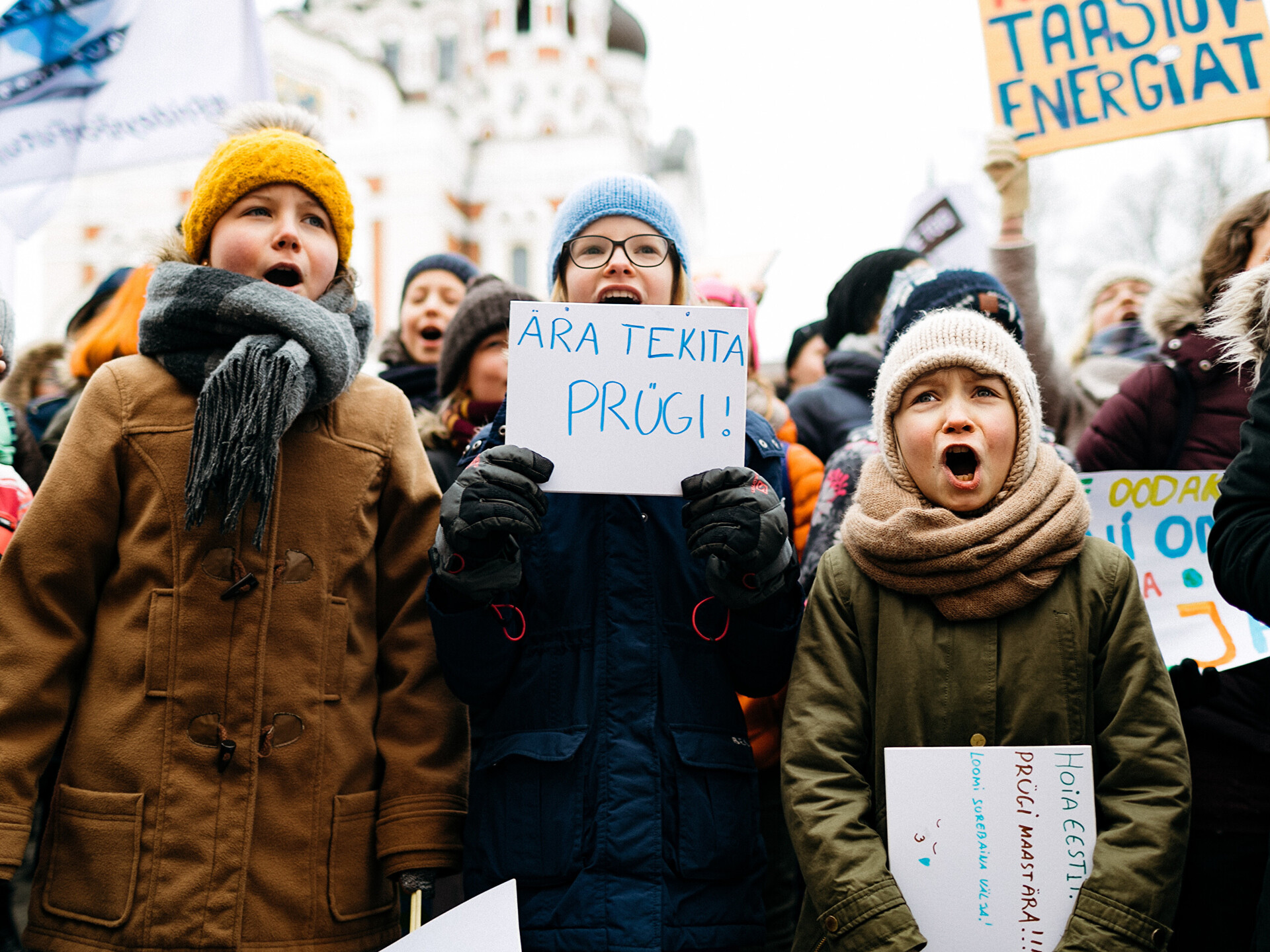 975dd7554c9 Gallery: Students in Estonia join #Fridays4Future climate protests | News |  ERR
