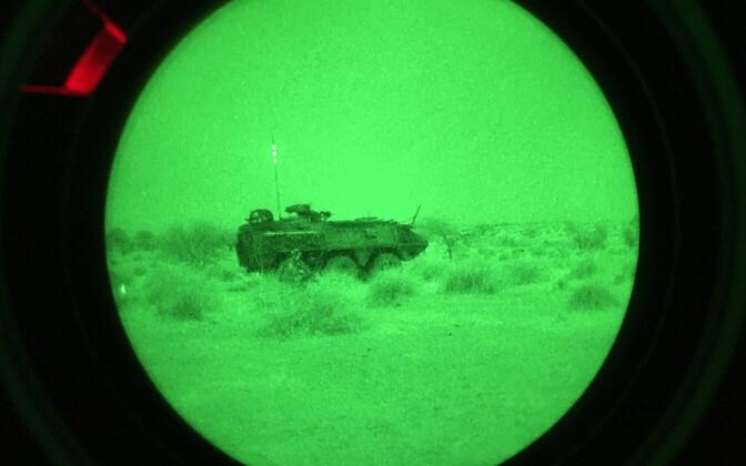 Estpla-28 patrullis öises Malis.