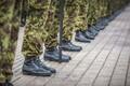 Vahipataljoni sõduri baaskursuse lõpetamine.