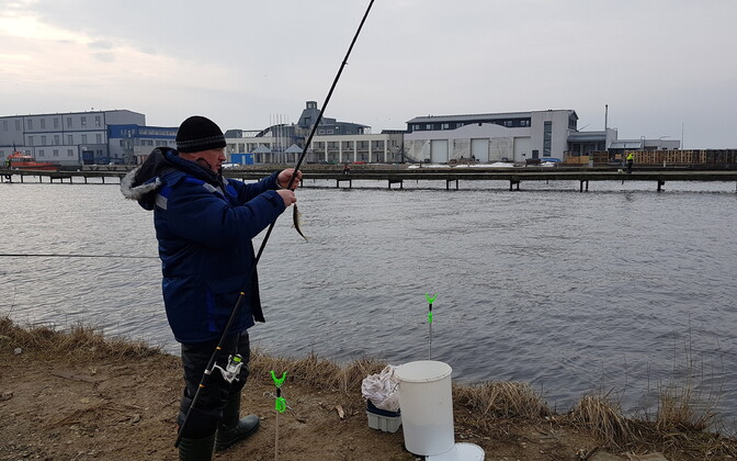 Fishing at Nasva.