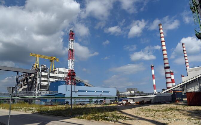 Электростанция Аувере.