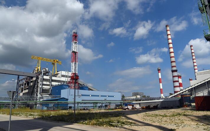 Электростанция в Аувере.