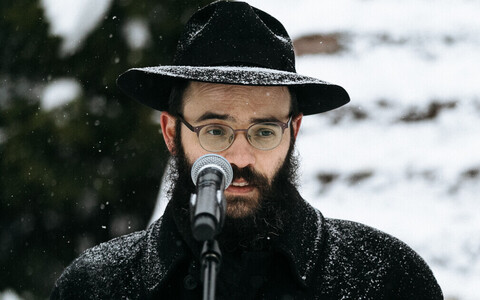 Rabbi Shmuel Kot is the head of the Estonian Jewish Congregation.