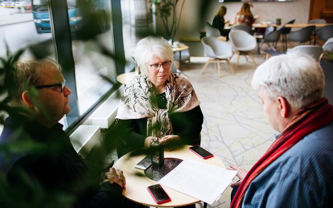Toomas Sildam intervjueerib Urmas Paeti ja Marina Kaljuranda