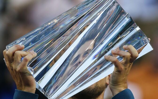 Dominic Thiem Indian Wellsi trofeega