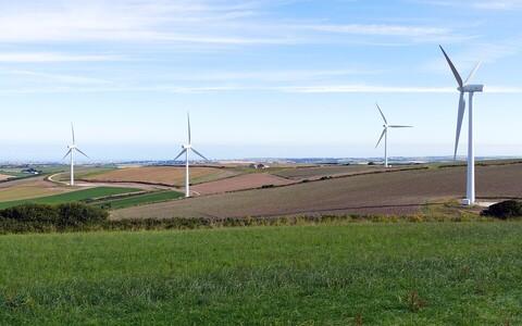 Ветряная электростанция.