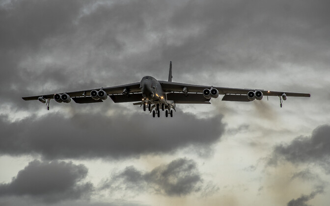 B-52 Stratofortress.