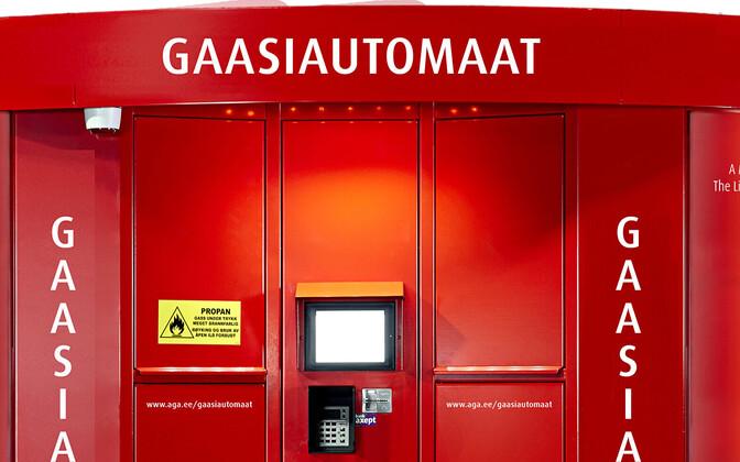 Gaasiautomaat.