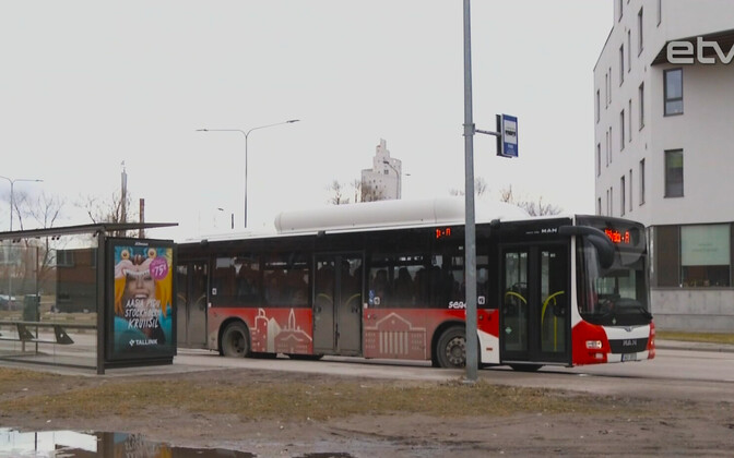 Общественный транспорт в Тарту.