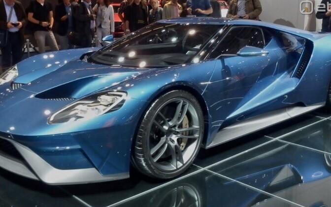 Автомобиль Ford GT. Иллюстративное фото