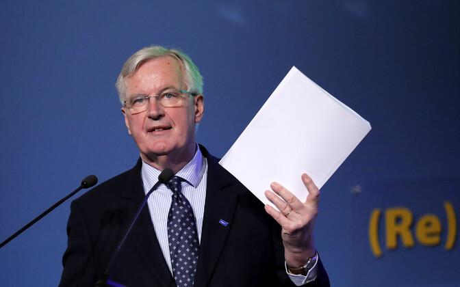 EL-i Brexiti pealäbirääkija Michel Barnier.