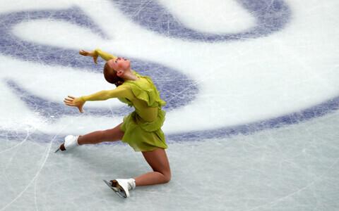 Эва Лотта Кийбус на чемпионате мира в Японии,