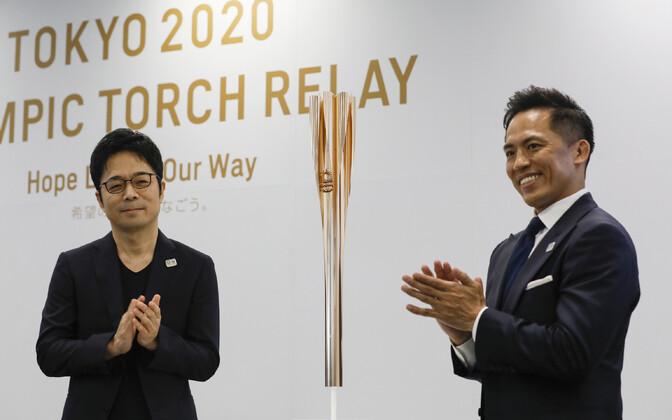 Tokyo olümpiatõrviku esitlus