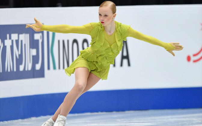 Eva Lotta Kiibus iluuisutamise maailmameistrivõistlustel