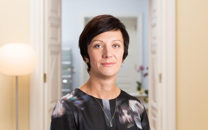 Elron CEO Merike Saks.