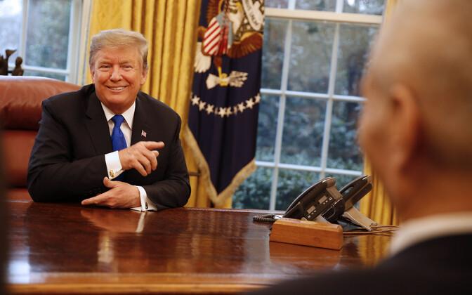 Trump kohtumas jaanuaris Valges Majas Hiina delegatsiooniga.