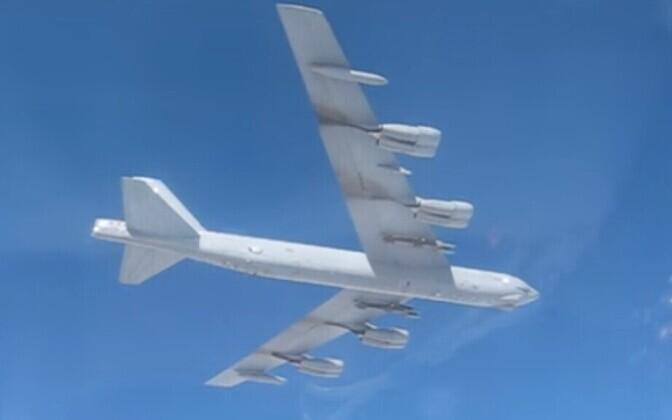 USA strateegiline pommitaja Vene kaitseministeeriumi videos.