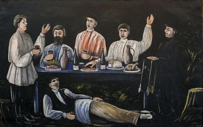 Творчество грузинского гения Нико Пиросмани в Таллинне.
