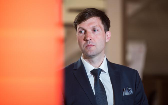 Председатель парламентской фракции EKRE Мартин Хельме.