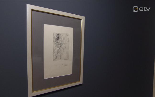 Pablo Picasso joonistus Gruusia rahvuslikust aardest, kunstnikust Niko Pirosmanist.