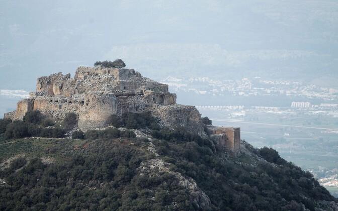 Kindlus Golani kõrgendikul.
