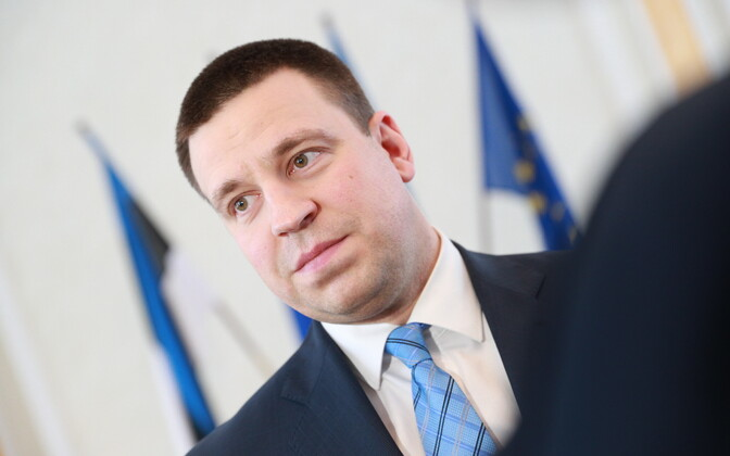 Prime Minister and Centre Party chairman Jüri Ratas.