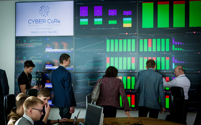 At the Cyber Core 2019 exercise, March 2019.
