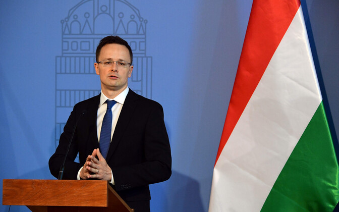 Hungarian Minister of Foreign Affairs and Trade Péter Szijjártó.
