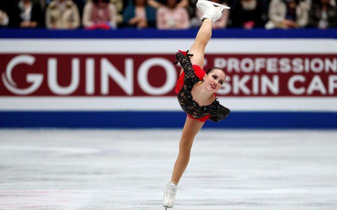 Värske maailmameister Alina Zagitova